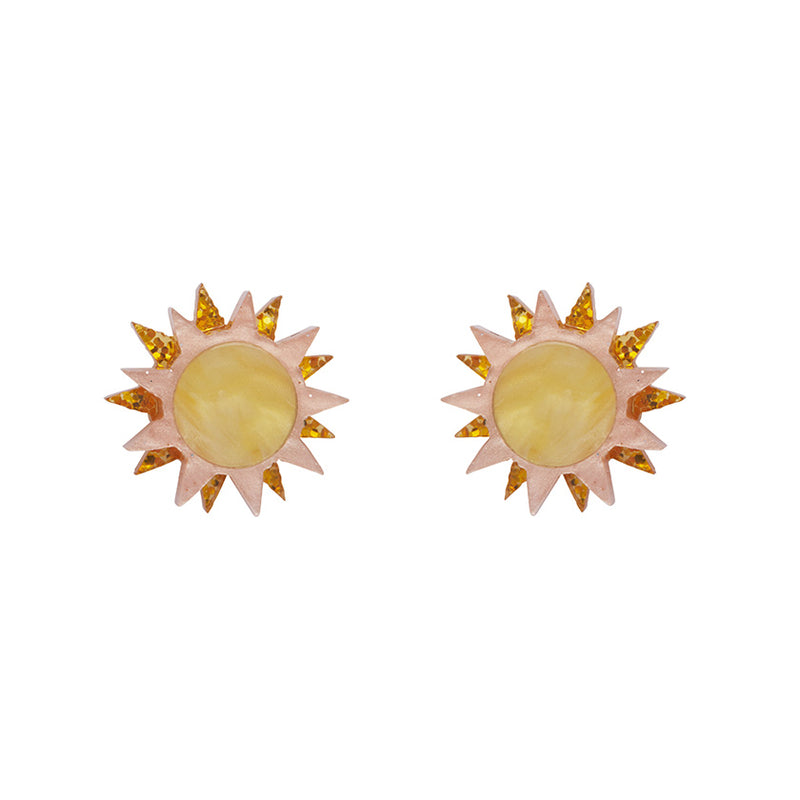 Golden Ray Earrings by Erstwilder