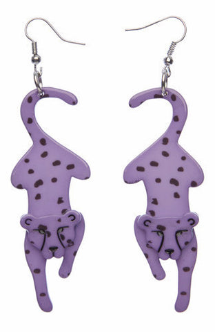 Erstwilder Chatting Cheetahs Earrings