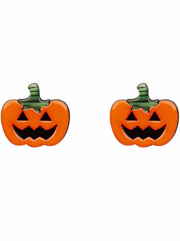 Erstwilder Jacks O'Lantern Earrings