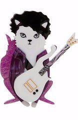 Erstwilder Purple Rain Brooch