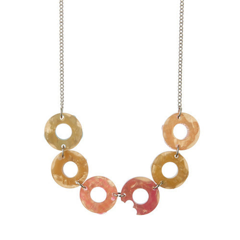 Erstwilder Sugar Bagel Bunch Sprinkles Necklace
