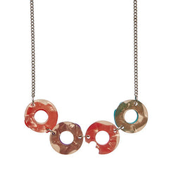 Erstwilder Sugar Bagel Bunch Necklace