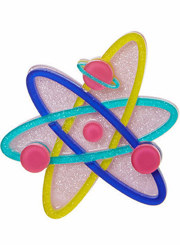 Erstwilder Up and Atom Brooch