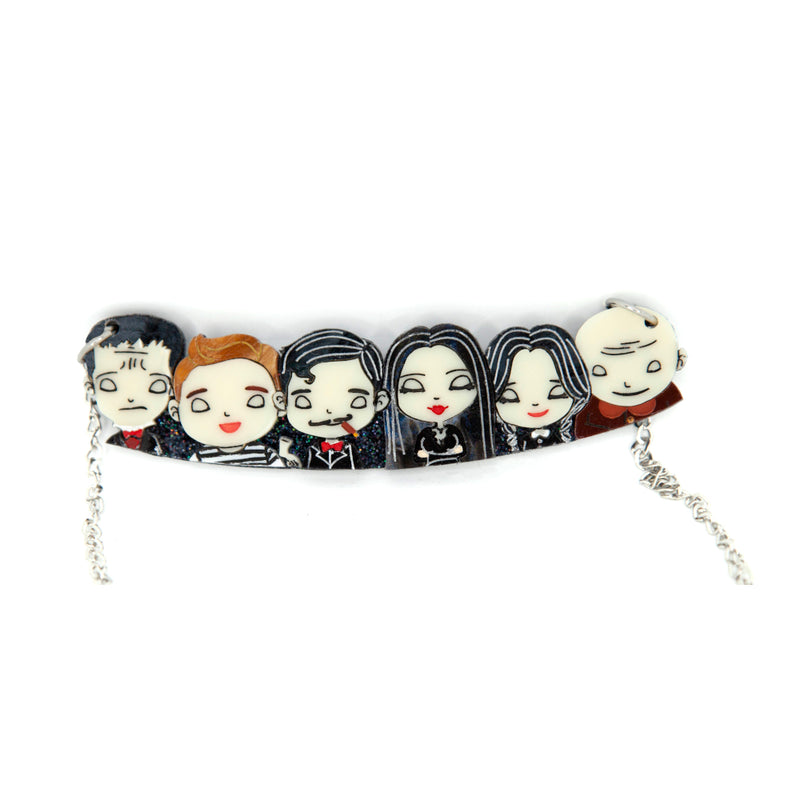 Addams Family Necklace *by Daisy Jean Florals