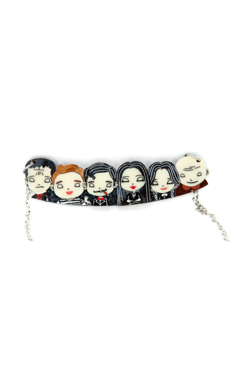Addams Family Necklace by Daisy Jean Florals
