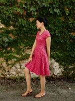 Ruby Pink Farmers Market Dress by Mata Traders