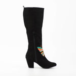 Halo Tall Butterfly Boot in Black by B.A.I.T.