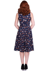 Amelia Dress in Wild Horse Print by Sheen Clothing