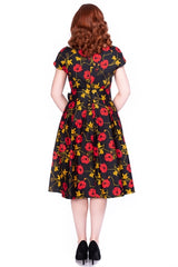 Minal Floral Swing Dress by Sheen