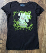 Brown Jane Goodall T-Shirt Top by Blue Platypus