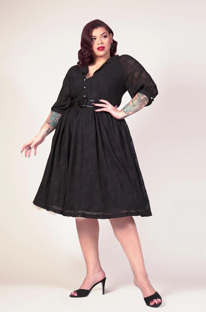 Lily Dress in Black by Tatyana