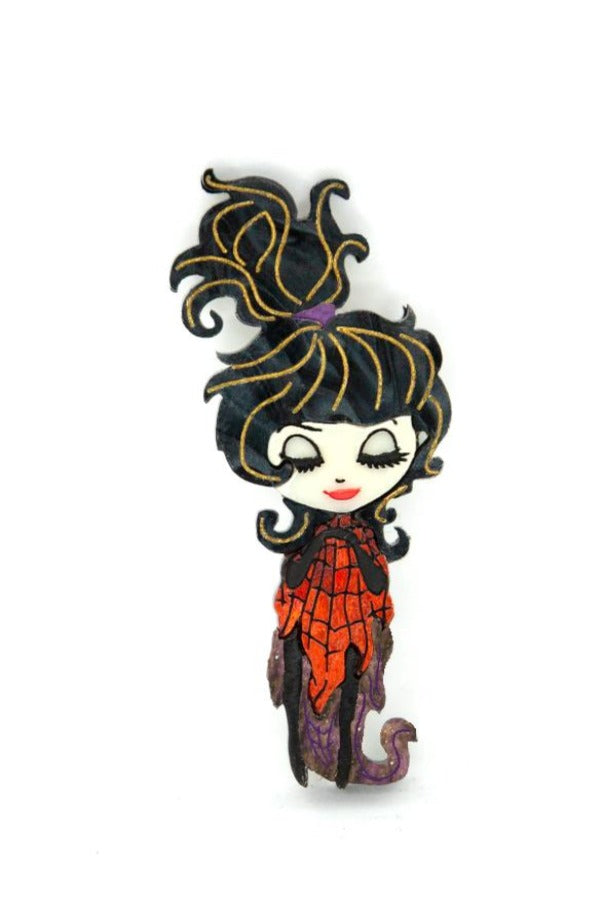 Beetlejuice Lydia Brooch by Daisy Jean Florals