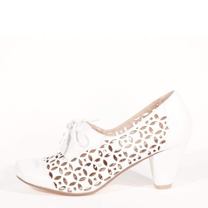 Million Heel in Ivory by Chelsea Crew
