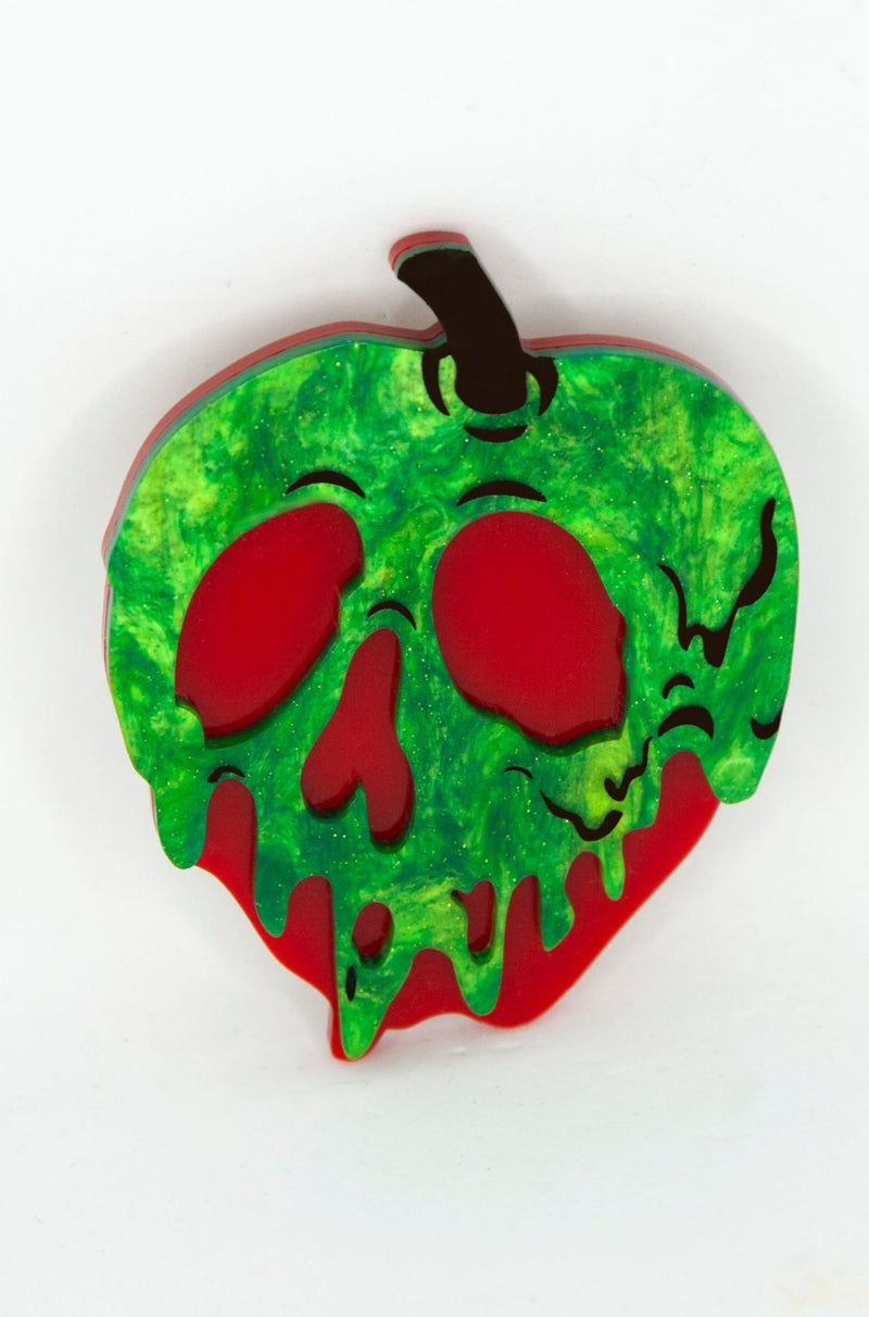 Poison Apple Brooch by Daisy Jean Florals