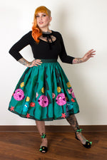 Puffer Fish Gathered Skirt by Oblong Box Shop