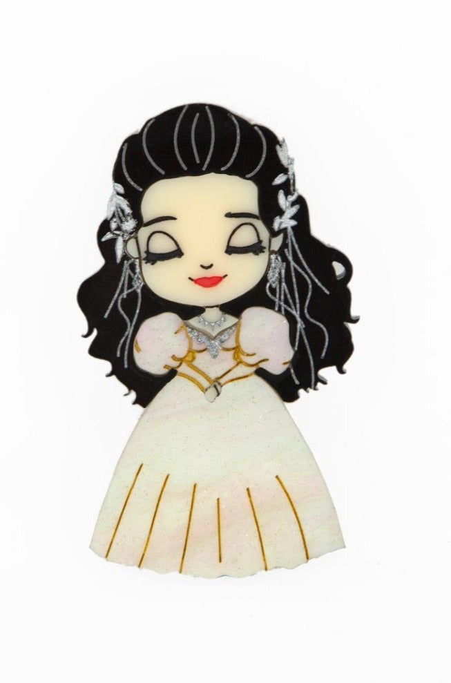 Labyrinth Sarah Brooch by Daisy Jean Florals