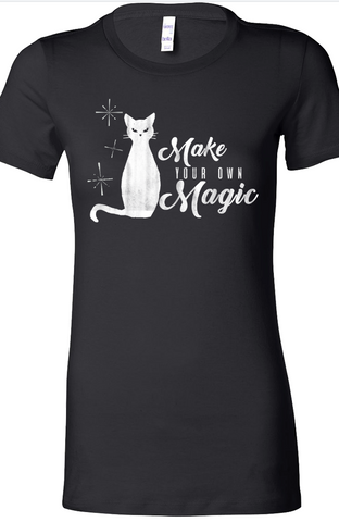 Make Your Own Magic Tee in Black by Kittees