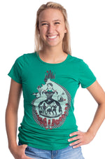 Dorothy T-Shirt Top in Emerald by Blue Platypus