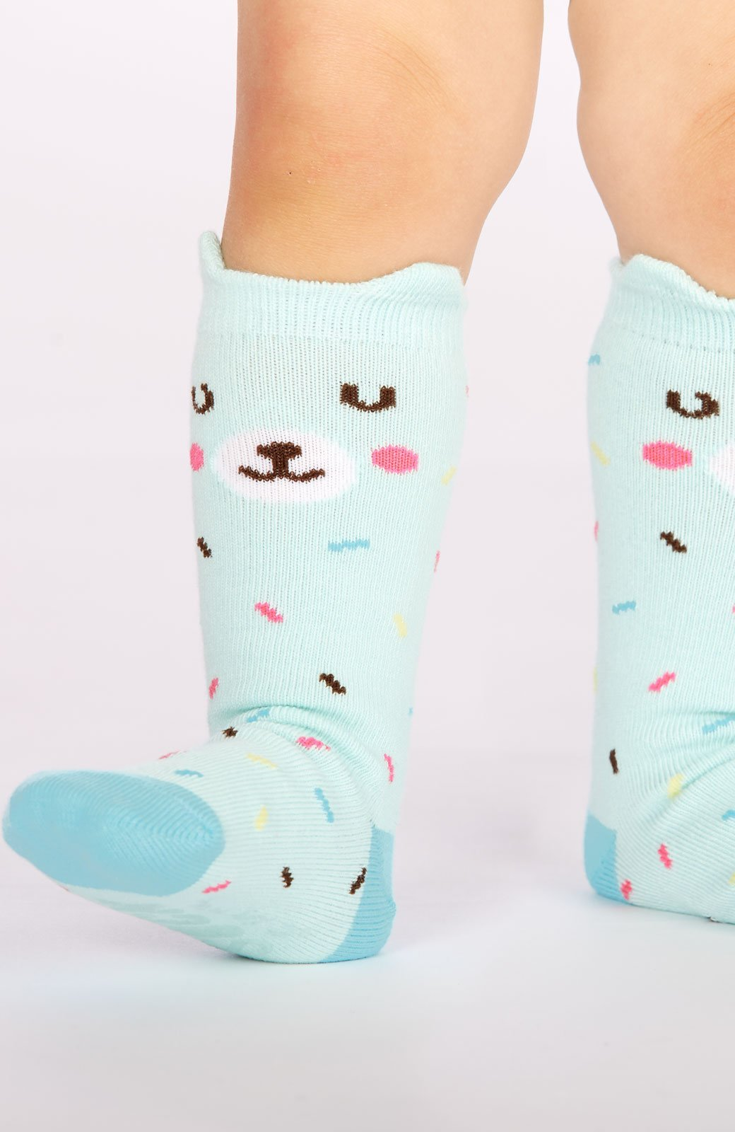 Bearly Sprinkled Toddler Knee Socks