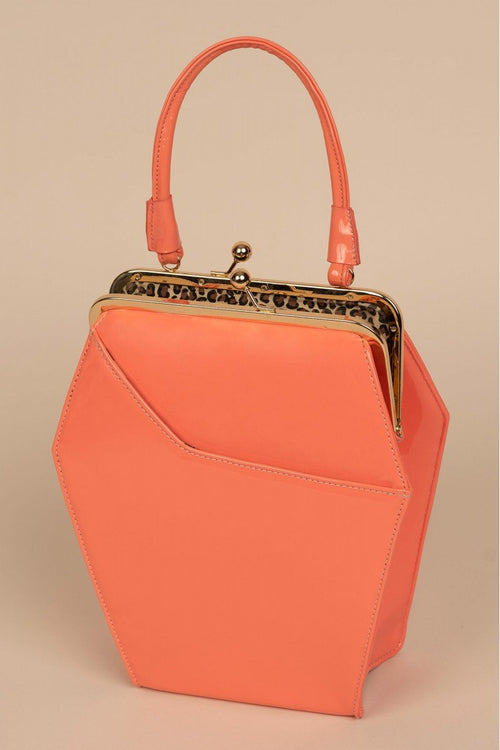 To Die For Purse in Coral
