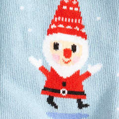 Santa Gnome Youth Crew Socks