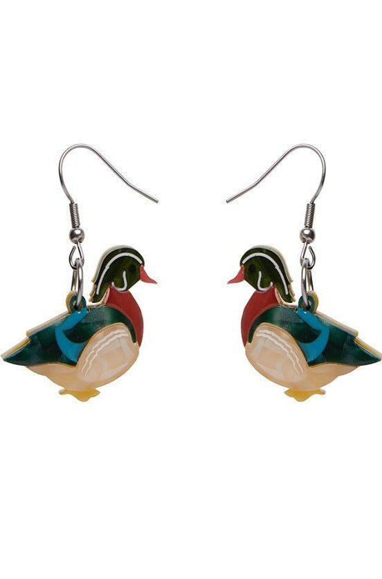 Mallard Ballard Drop Earrings by Erstwilder