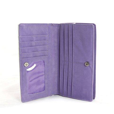 Travel Wallet in Lavender