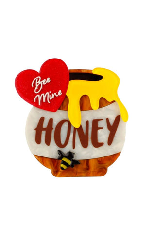 Bee Mine, Honey Brooch by Erstwilder