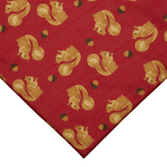 The Satisfied Squirrel Large Neck Scarf by Erstwilder