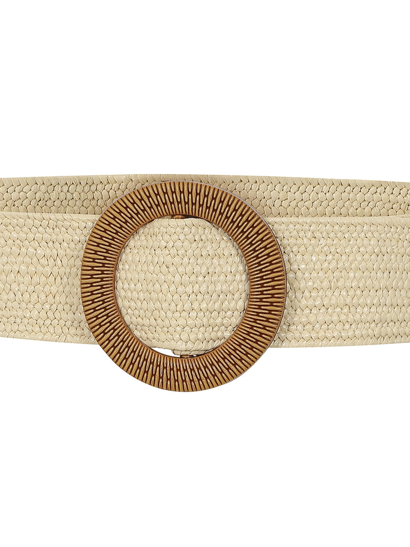 April Tan Summer Belt by Collectif