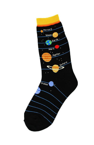 Planets Women's Ankle Socks by Foot Traffic
