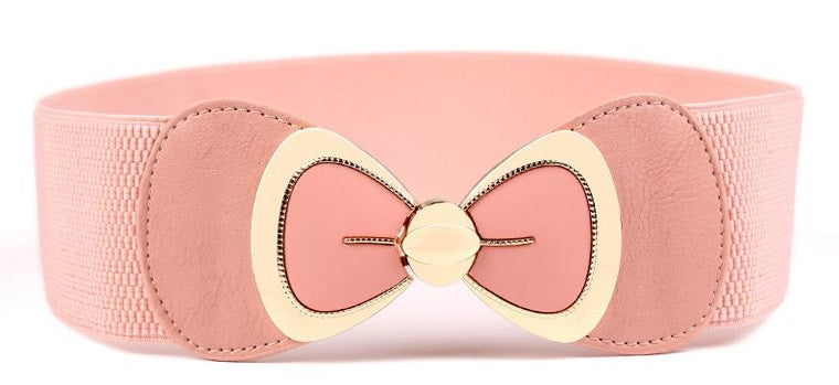 Big Bow Elastic Belt in Multiple Colors!