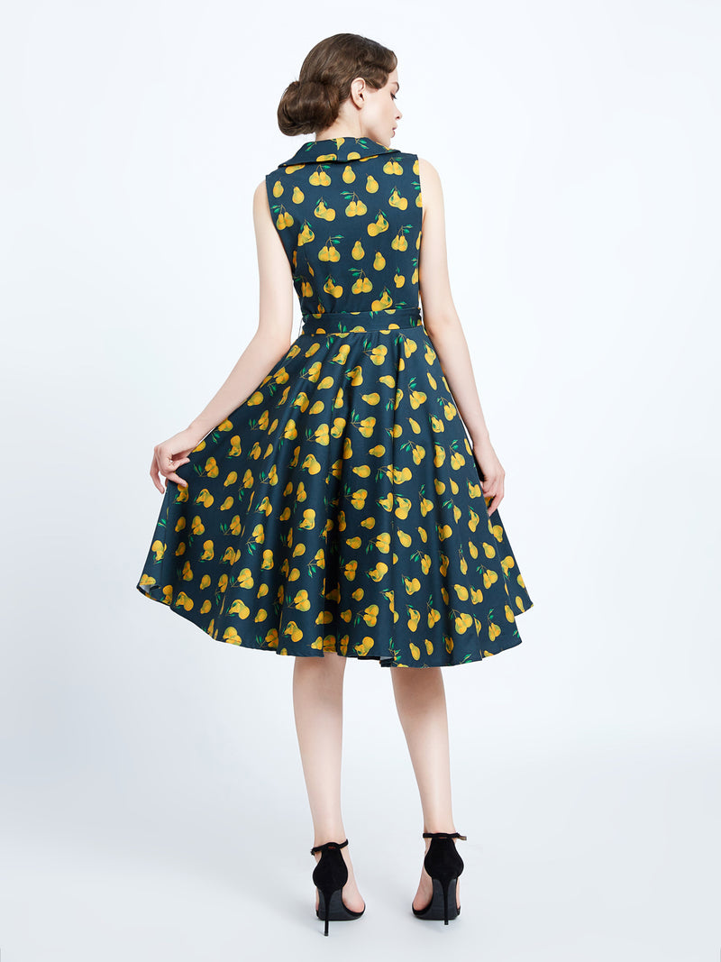 Jani Pear Dress by Miss Lulo