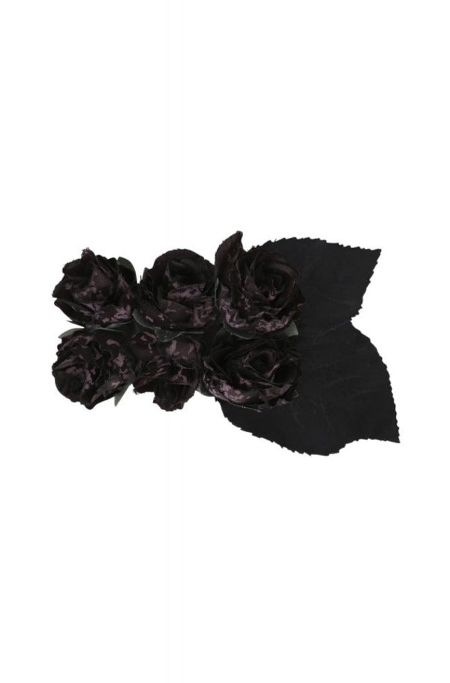 Midnight Hair Flower by Collectif