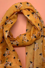 Oscar Wildenfox Large Neck Scarf by Erstwilder