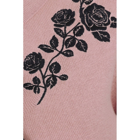 Charlene Roses Cardigan in Pink by Collectif
