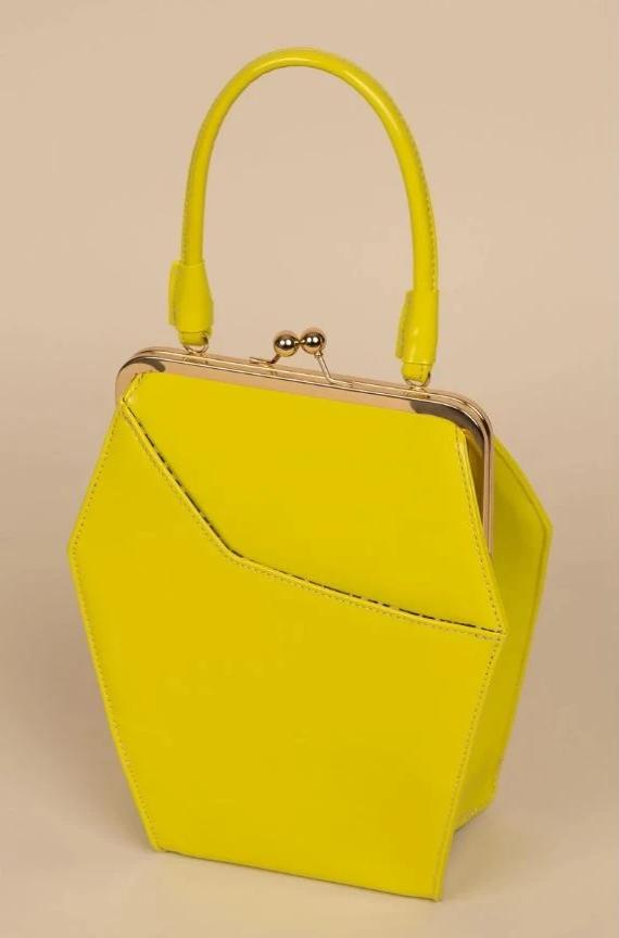 To Die For Purse in Chartreuse