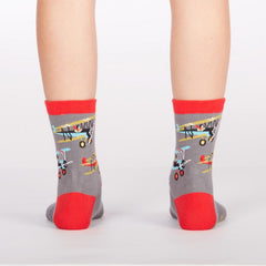 Co Pilot Youth Crew Socks