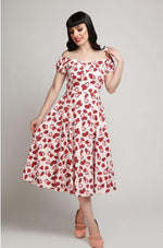Delores Strawberry Dress by Collectif