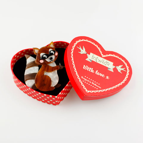 Love Bandit Brooch by Erstwilder