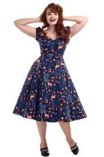 Forest Friends Delores Dress by Collectif