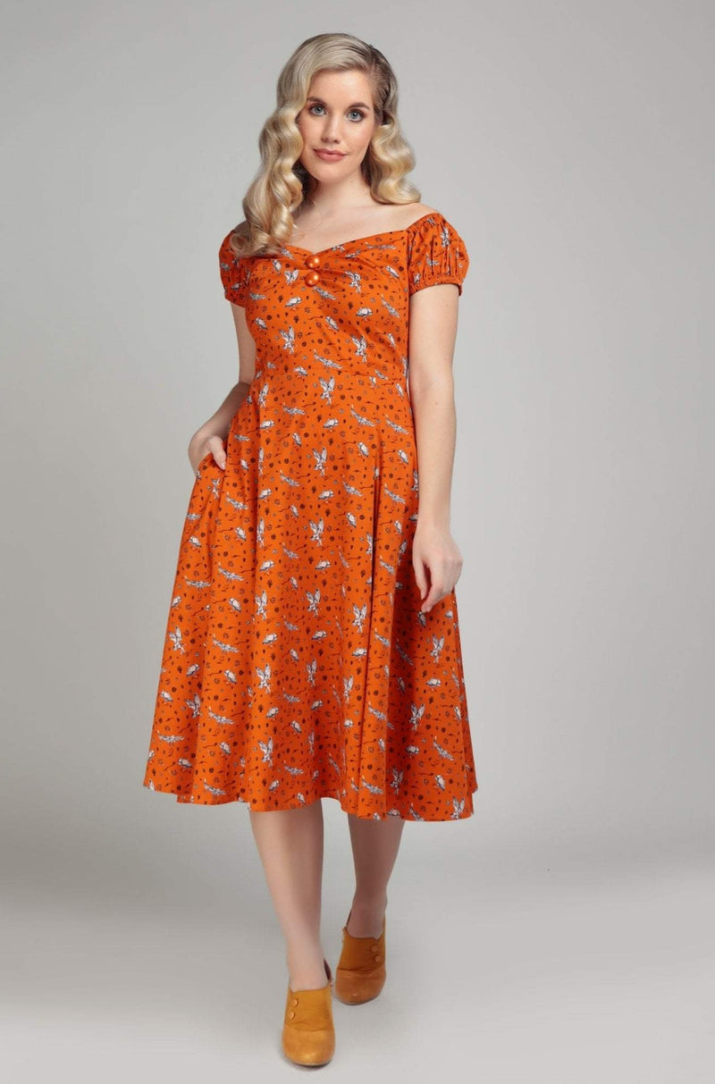 Delores Hoot Hoot Dress by Collectif
