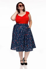 Heartbreaker Doris Skirt by Retrolicious