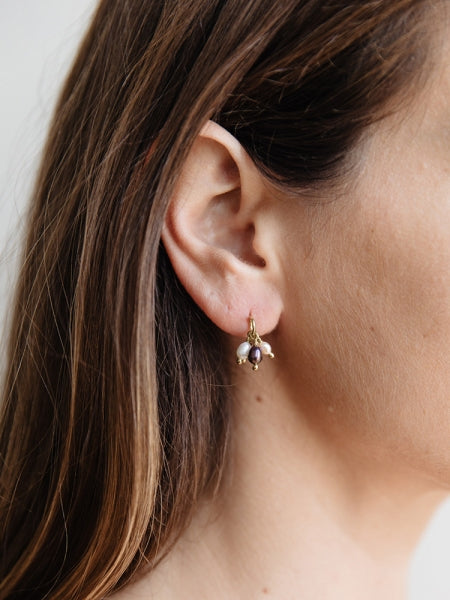 Pippa Freshwater Earrings by Mata Traders