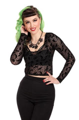 Elena Magic Mesh Top by Collectif