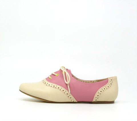 Emmie Rose Pink Saddle Shoes by B.A.I.T.