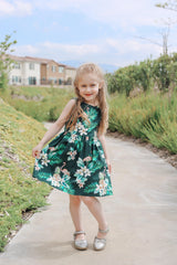Flamingo Kids Dress by Retrolicious