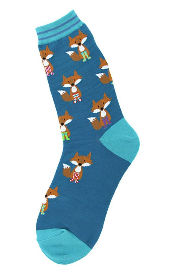 Fox in Socks Women's Ankle Socks by Foot Traffic