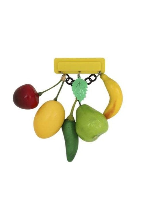Fruitalicious 40's Brooch by Collectif