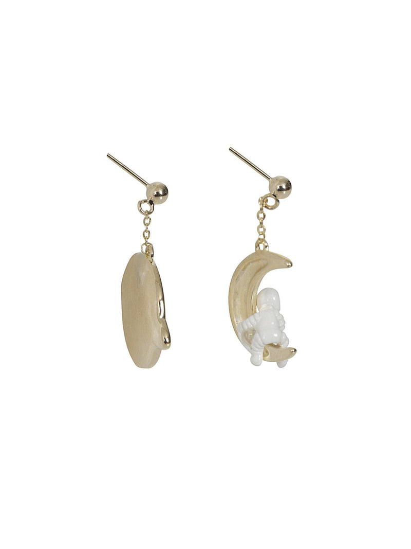 Space Earrings by Collectif